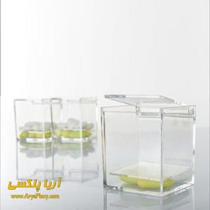 جعبه پلکسی به عنوان ظروف و نگهدارنده مواد غذایی و سایر وسایل